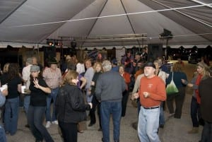 Dancing at Galveston Oktoberfest