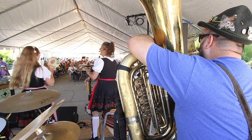 Music at Galveston Oktoberfest