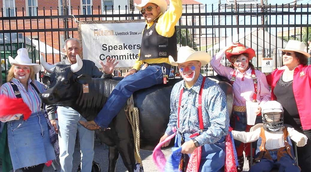 Livestock Rodeo Clowns Galveston Oktoberfest