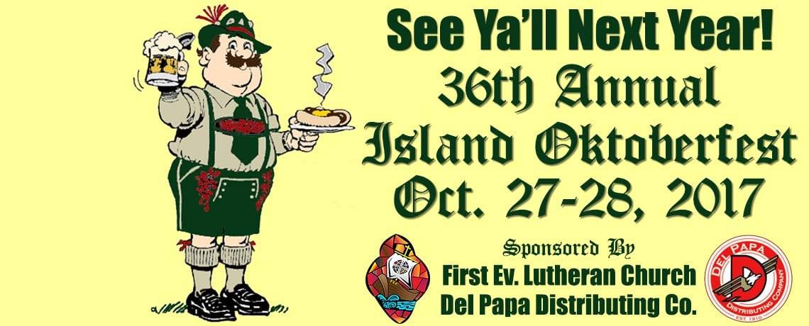 36th Annual Island Oktoberfest!