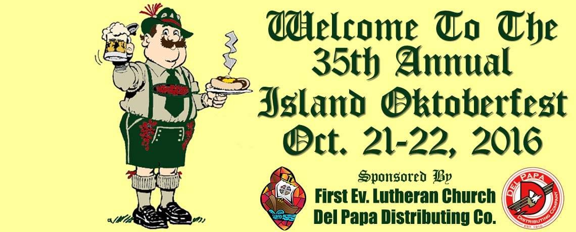 35th Annual Island Oktoberfest!