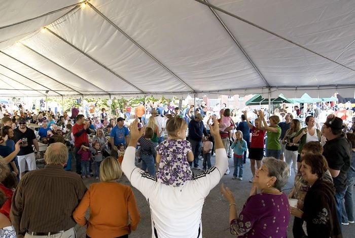 Galveston Oktoberfest Chicken Dance Contest