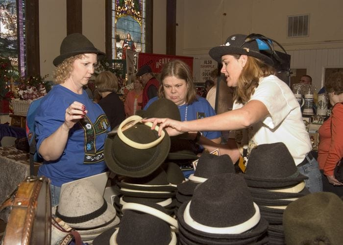 "Get your own authentic ""Traditioneller Kinderhut"" hat at the Island Oktoberfest!"