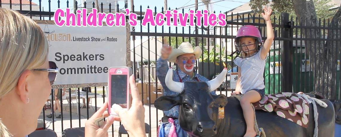 Houston Livestock Rodeo at Galveston Oktoberfest