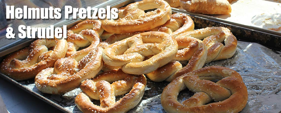Helmut's Pretzels at Island Oktoberfest